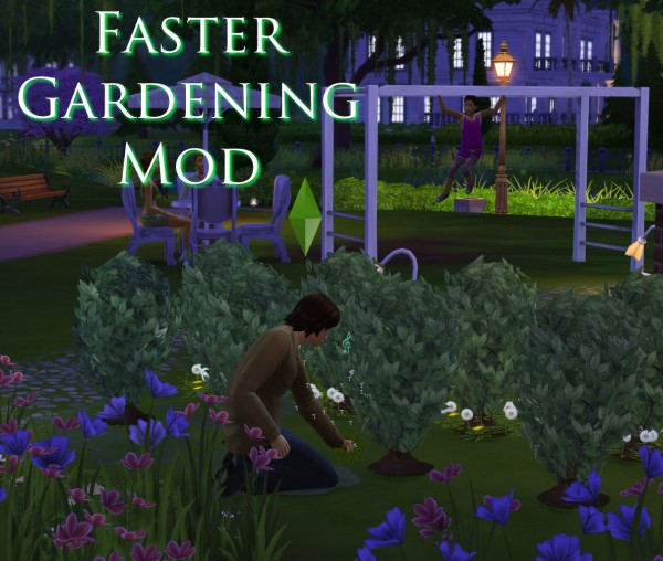 Mod The Sims: Faster Gardening Mod by Scumbumbo
