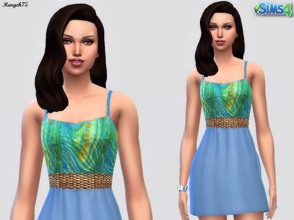 Sims 3 Addictions: Wanna Have Fun Dress by Margies Sims