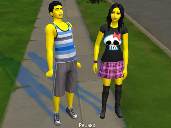 Mod The Sims: Yellow Skintone by Snaitf