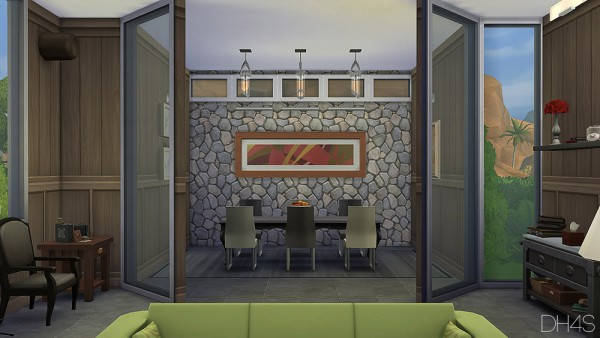 Dh4s Modern Classic Livingroom Sims 4 Downloads