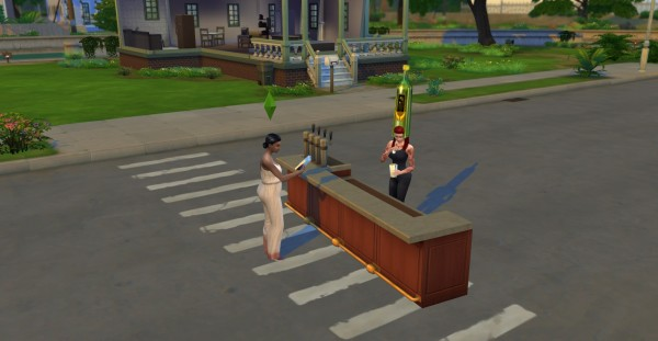 Mod The Sims: Mask Mod: Wear Objects as Masks and Hats by TwistedMexi