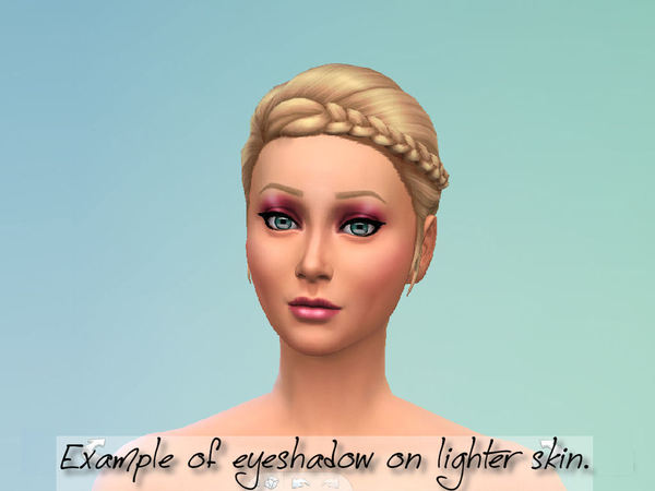 The Sims Resource: Smashbox Subtle Sheen Eyeshadow by Fortunecookie1