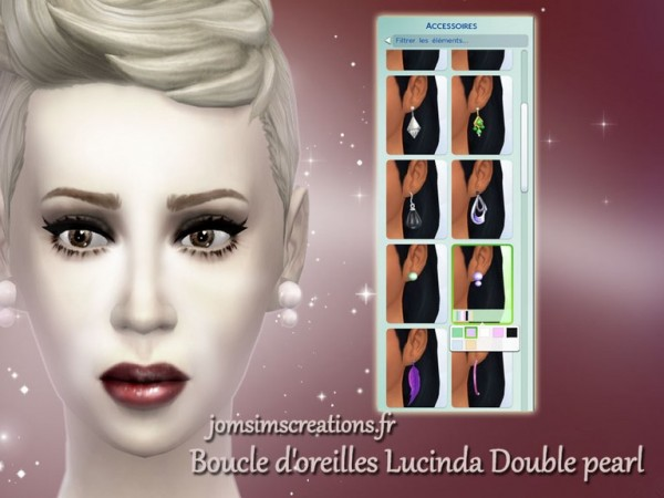 Jom Sims Creations: Earrings set 1