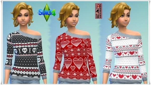 Annett`s Sims 4 Welt: Norwegian Sweaters
