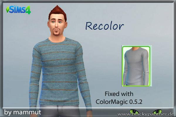 Blackys Sims 4 Zoo: Knit Stripes 1