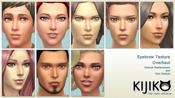 Kijiko: Eyebrow Texture Overhaul