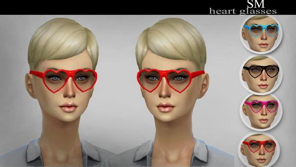 Simmaniacos: Heart Glasses new mesh