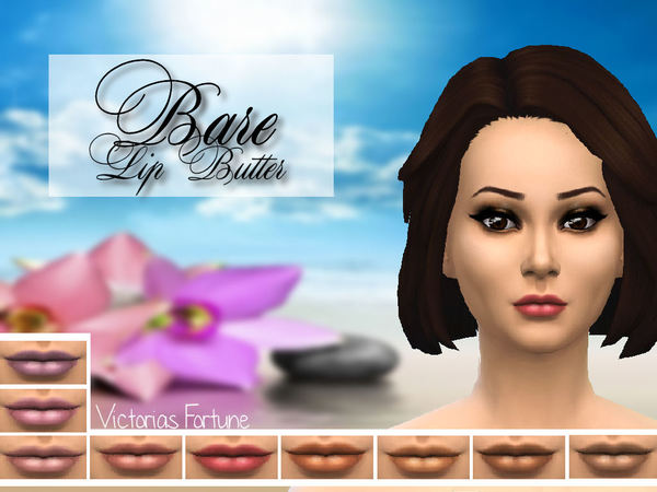 The Sims Resource: Bare Lip Butter by Fortunecookie1