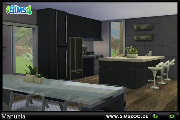 Blackys Sims 4 Zoo: Kitchen 2 by Manuela