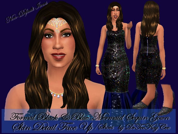 The Sims Resource: Sequin Royalty Set by Drteekaycee