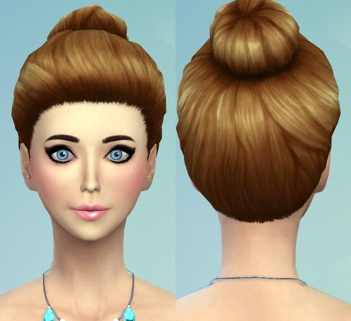 Darkiie Sims 4: 22 Hair Recolors
