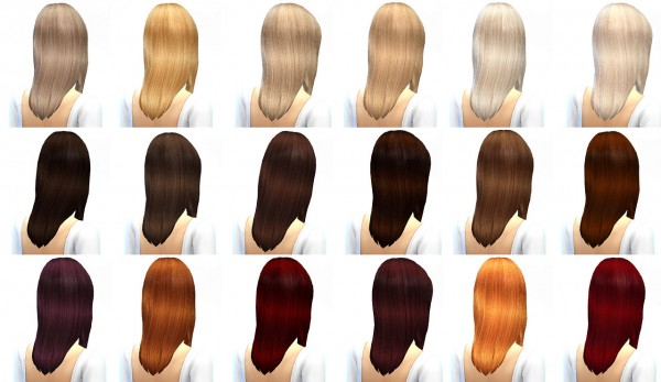 Miss Paraply: 300 followers gift hair retextured 45 colors