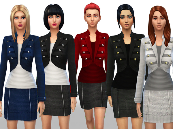 The Sims Resource Fall Winter Set By Weeky Sims 4 Downloads