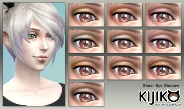 Kijiko: Sheer Eyeshadow and Sheer Lip Gloss