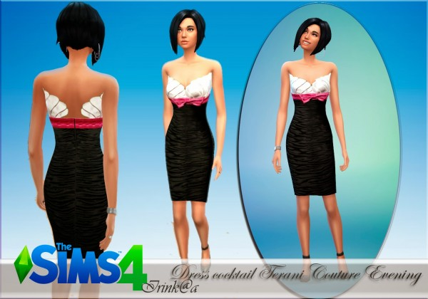 Irinka: Dress cocktail Terani Couture Evening