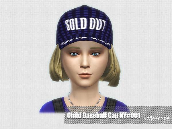 The Sims Resource: Baseball Cap NY Set#001