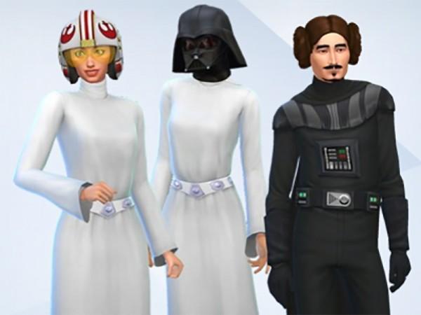 Mod The Sims: Versatile Star Wars Hats by Snaitf