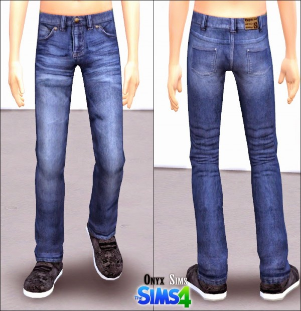 Onyx Sims: Boys jeans