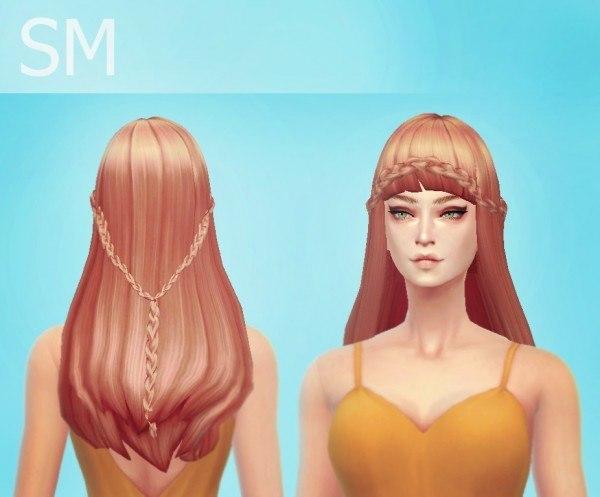Simmaniacos: Mermaid hairstyle