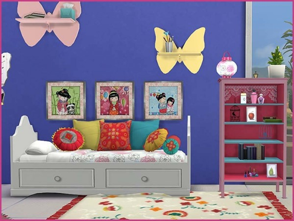 The Sims Resource: Bedroom Jade by Pilar
