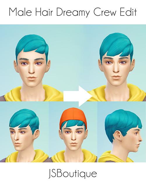 JS Boutique: Male Dreamy Crew Hair