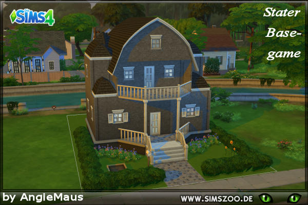 Blackys Sims 4 Zoo: Starter house by Angie Maus