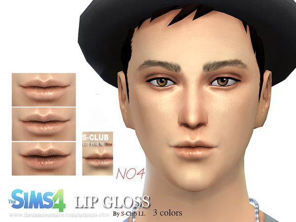 The Sims Resource: Lipstick M04 by S Club