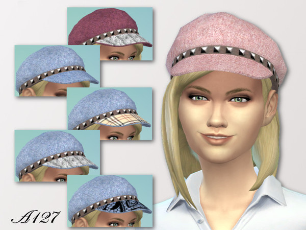 The Sims Resource: Visor Hat by Altea127