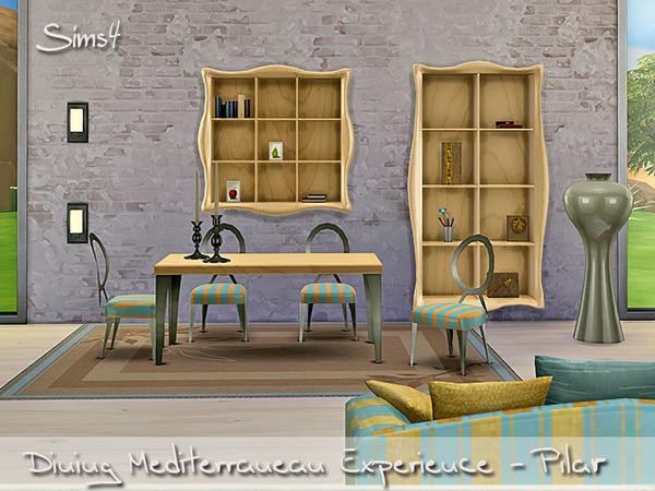 The Sims Resource: Dining Mediterranean Experience by Pilar