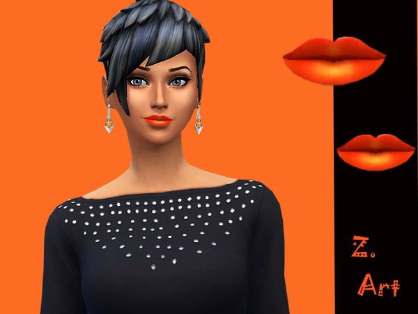 The Sims Resource: Kiss Me lipstick by Zuckerschnute20