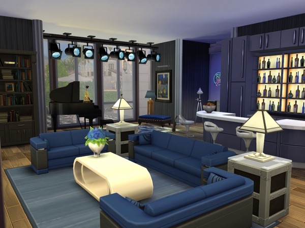 The Sims Resource The Vault Residential House Sims 4