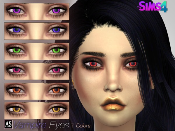 The Sims Resource: Vampire Eyes by Alexandra Sine