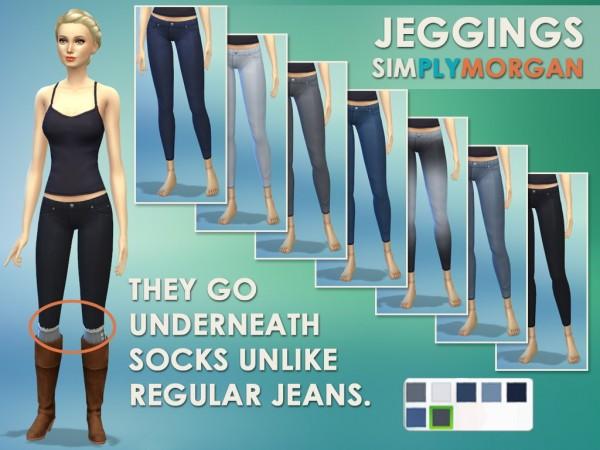 Simply Morgan: Leggings