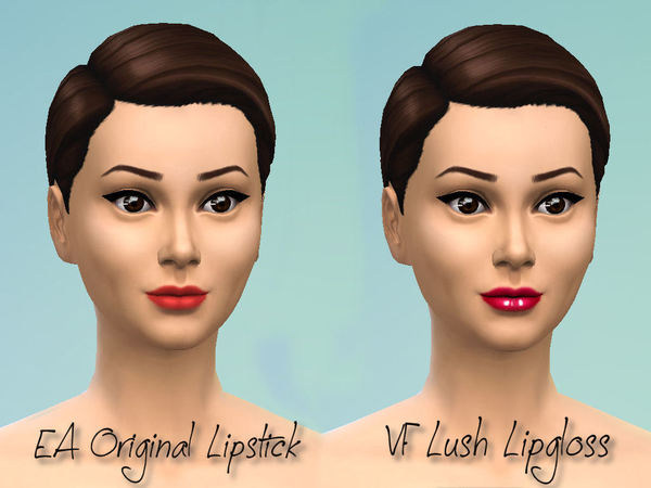 The Sims Resource: Victorias Fortune Lush Lipgloss Collection by fortunecookie1