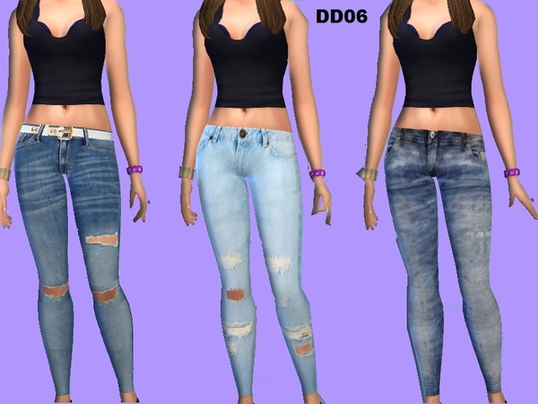 The Sims Resource: Jeggings set v2 by Diva Delic06