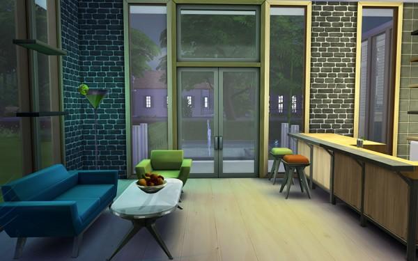 Ihelen Sims: Artists House by Rany Randolff