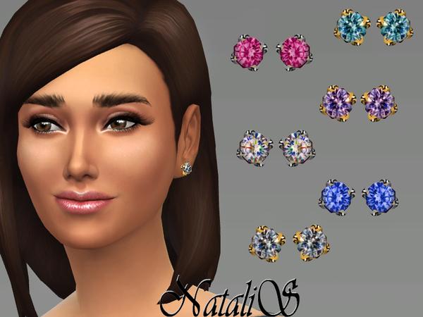 Simple diamond star necklace