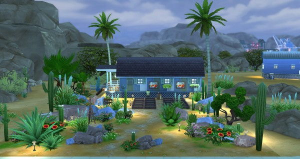 Studio Sims Creation: Red apple  residential lot