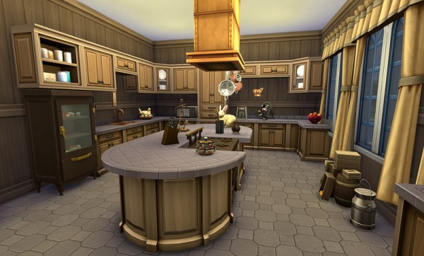 Sims  Kitchen Accessories Decor