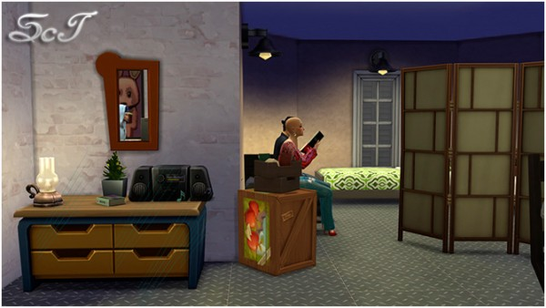 Sims Creativ: Shelter for poor artists by Tanitas8