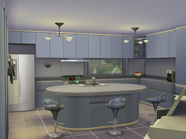 The Sims Resource: Architects Terrace house by linkinka23