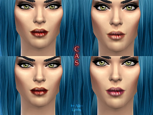 The Sims Resource: Dry Cracked Lips by Alice Liddel