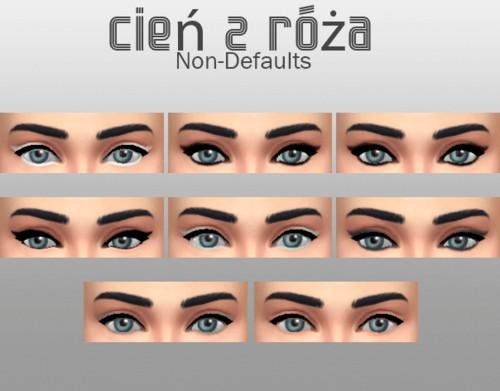 Cien z Roza: Eyeliner 1