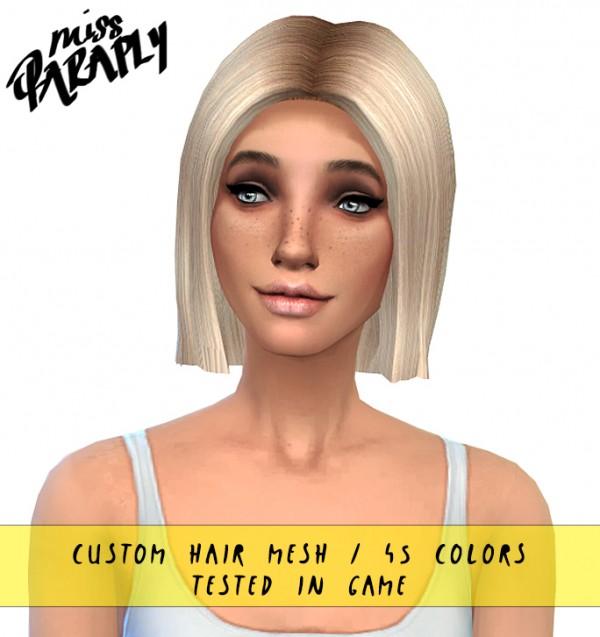 Miss Paraply: Custom hair mesh hairs 45 colors