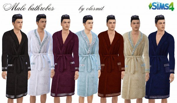 OleSims: Male bathrobes