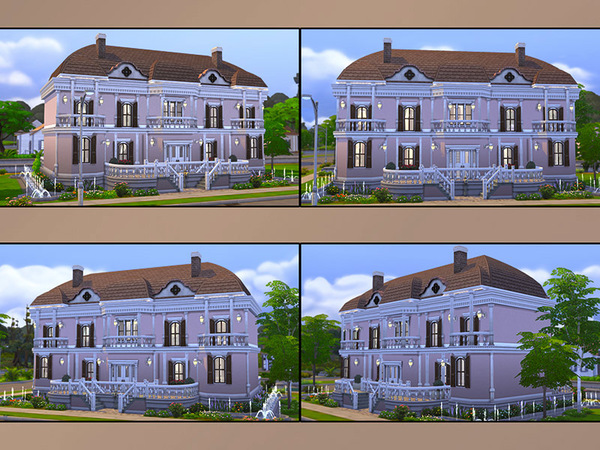 The Sims Resource: MB Chalet Amour house by matomibotaki