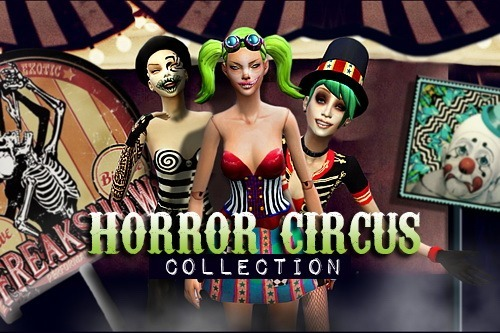 MissFortune Sims: Horror Circus Collection