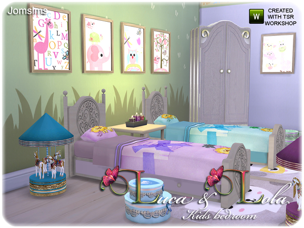 The Sims Resource Kids Bedroom Luca Amp Lola By Jomsims