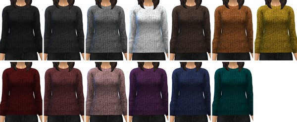 Miss Paraply: 13 sweaters