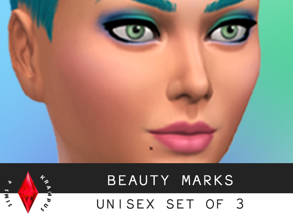 The Sims Resource: Beauty Mark Set by SIms4Krampus